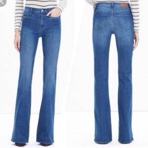 Madewell flea market flare jeans 25 Kara wash